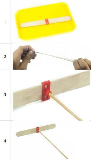 DIY Hand Copter